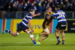 Mitch Eadie of Bristol Rugby in action - Rogan Thomson/JMP - 18/11/2016 - RUGBY UNION - Recreation Ground - Bath, England - Bath Rugby v Bristol Rugby - Aviva Premiership.