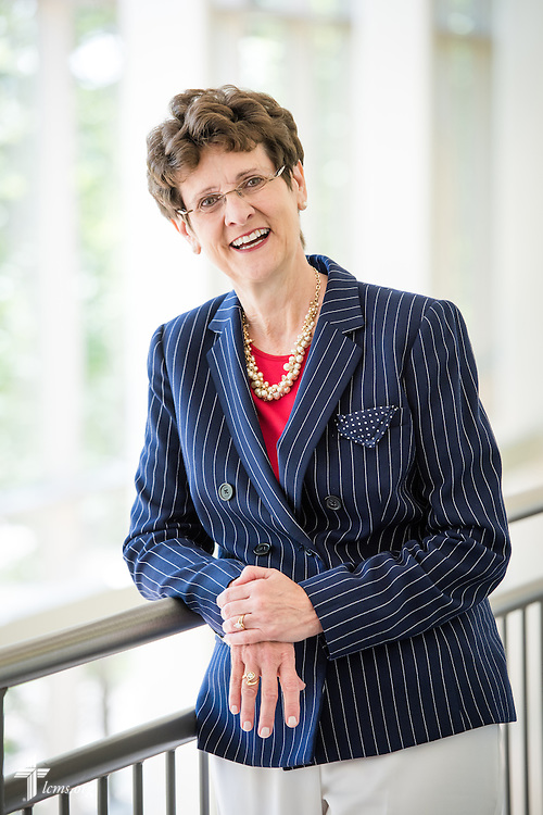 Portrait of Dr. Beverly Yahnke, executive director for Christian counsel at DOXOLOGY, on Wednesday, August 12, 2015, at Saint Louis University in Midtown St. Louis. LCMS Communications/Erik M. Lunsford