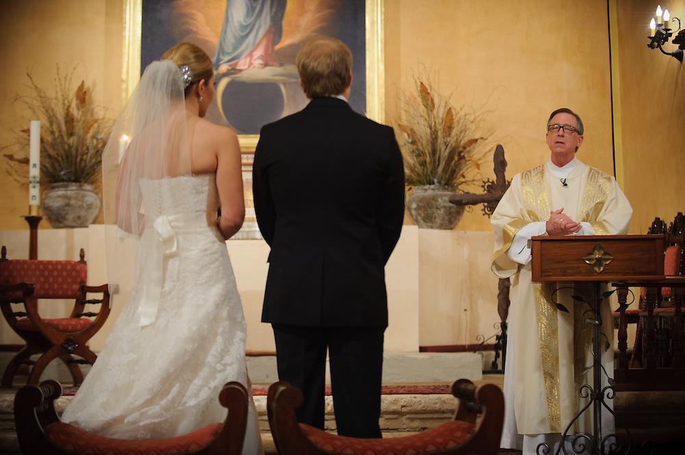 20120311Saturday171940.Shelley Myers and Charles Watson wedding Saturday, March 10, 2012 in San Antonio..Mission Concepcion, Westin Riverwalk.Saturday3/10/12.Photo © Bahram Mark Sobhani