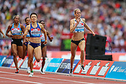 Lynsey SHARP of Great Britain & NI sprints to victory in the Women's 800m during the Muller Anniversary Games 2019 at the London Stadium, London, England on 21 July 2019.