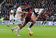 Alexis Sanchez (7) of Manchester United on the attack with Juan Mata (8) of Manchester United chasing him during the Premier League match between Bournemouth and Manchester United at the Vitality Stadium, Bournemouth, England on 3 November 2018.