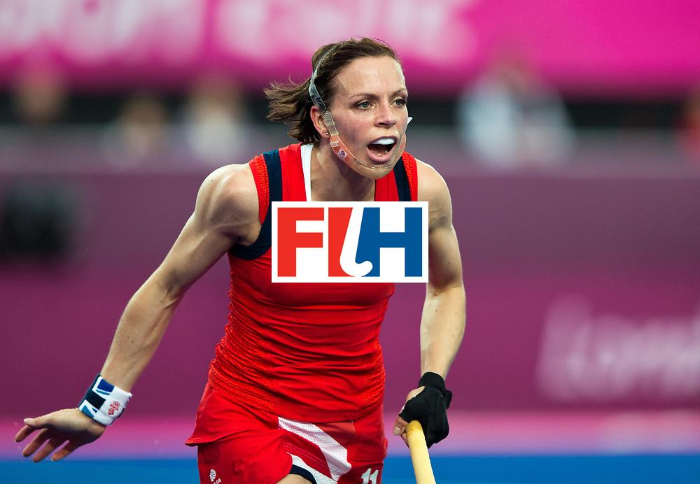 London Olympics 06/08/2012.Womens Hockey Great Britain v Netherlands .Kate Walsh..Photo: Grant Treeby