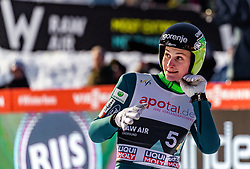 16.03.2019, Vikersundbakken, Vikersund, NOR, FIS Weltcup Skisprung, Raw Air, Vikersund, Teambewerb, im Bild Domen Prevc (SLO) // Domen Prevc of Slovenia during the team competition of the 4th Stage of the Raw Air Series of FIS Ski Jumping World Cup at the Vikersundbakken in Vikersund, Norway on 2019/03/16. EXPA Pictures © 2019, PhotoCredit: EXPA/ JFK