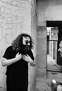 Jerry Garcia at Saqqara - The Grateful Dead – Egypt 1978