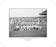 Neg No:.430/6025-6028...17031954IPFCF...17.03.1954..Interprovincial Railway Cup Hurling - Final.Leinsterv. Munster.Munster Team..Leinster.0-9.Munster.0-5..HURLING- Incorrect Folder