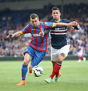 James McArthur and Luka Tankulic - Crystal Palace v Dundee - Julian Speroni testimonial match at Selhurst Park<br /> <br />  - © David Young - www.davidyoungphoto.co.uk - email: davidyoungphoto@gmail.com