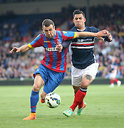 James McArthur and Luka Tankulic - Crystal Palace v Dundee - Julian Speroni testimonial match at Selhurst Park<br /> <br />  - &copy; David Young - www.davidyoungphoto.co.uk - email: davidyoungphoto@gmail.com