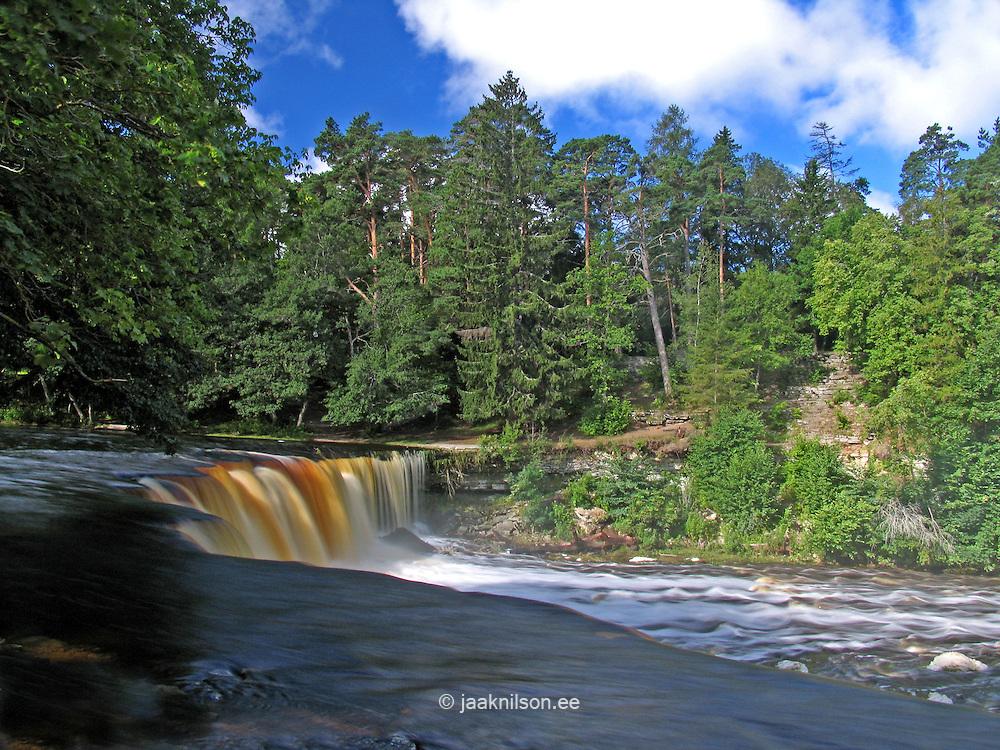 Keila Waterfall, Harju County, Estonia, Europe