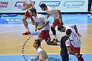 DESCRIZIONE : Torino Campionato 2015/16 Serie A Beko Lega A Manital Auxilium Torino -  Grissin Bon Reggio Emilia<br /> GIOCATORE : Adam Pechacek<br /> CATEGORIA : Riscaldamento Before Pregame<br /> SQUADRA : Grissin Bon Reggio Emilia<br /> EVENTO : LegaBasket Serie A Beko 2015/2016<br /> GARA : Manital Auxilium Torino - Grissin Bon Reggio Emilia<br /> DATA : 05/10/2015<br /> SPORT : Pallacanestro<br /> AUTORE : Agenzia Ciamillo-Castoria/GiulioCiamillo