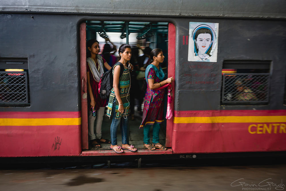 For increased safety and protection, most trains leaving Mumbia's railway station now offer a Women-Only carriage.