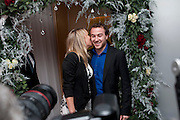 Chloe Madeley; David McNidder, English National Ballet launches its Christmas season with a partyu before s performance of The Nutcracker at the Coliseum.  St. Martin's Lane Hotel.  London. 16 December 2009 *** Local Caption *** -DO NOT ARCHIVE-© Copyright Photograph by Dafydd Jones. 248 Clapham Rd. London SW9 0PZ. Tel 0207 820 0771. www.dafjones.com.<br /> Chloe Madeley; David McNidder, English National Ballet launches its Christmas season with a partyu before s performance of The Nutcracker at the Coliseum.  St. Martin's Lane Hotel.  London. 16 December 2009