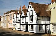 Historic buildings and art gallery shop, Dedham, Essex, England