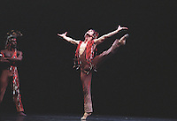"""Dance Theatre of Harlem in Michael Smuin's """"Song For Dead Warriors""""<br /> <br /> Choreography: Michael Smuin<br /> Sets amd Costumes: Willa Kim<br /> Lighting: Sara Linnie Slocum"""