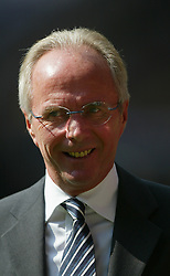 CARDIFF, WALES - SATURDAY, SEPTEMBER 3rd, 2005: England's coach Sven-Goran Eriksson during the World Cup Qualifier at the Millennium Stadium. (Pic by Chris Brunskill/Propaganda)