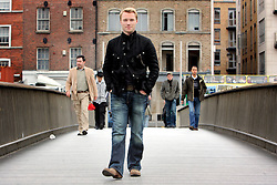 IRELAND DUBLIN 9MAY06 - Singer Ronan Keating (29) at the Millennium Bridge in his native Dublin. The popstar emerged on the international scene in 1994 with the band Boyzone and has since gone solo and is about to release his new album 'Bring You Home' in June this year...jre/Photo by Jiri Rezac..© Jiri Rezac 2006..Contact: +44 (0) 7050 110 417.Mobile:  +44 (0) 7801 337 683.Office:  +44 (0) 20 8968 9635..Email:   jiri@jirirezac.com.Web:    www.jirirezac.com..© All images Jiri Rezac 2006 - All rights reserved.