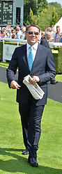 MICHAEL OWEN at the 2014 Glorious Goodwood Racing Festival at Goodwood racecourse, West Sussex on 31st July 2014.