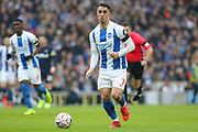 Brighton and Hove Albion midfielder Beram Kayal (7) during the The FA Cup 5th round match between Brighton and Hove Albion and Derby County at the American Express Community Stadium, Brighton and Hove, England on 16 February 2019.