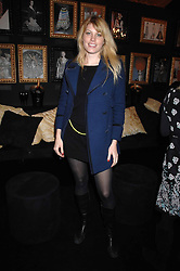 MEREDITH OSTROM in the Moet & Chandon Room at British Fashion Week at the Natural History Museum on 15th February 2007.<br /><br />NON EXCLUSIVE - WORLD RIGHTS