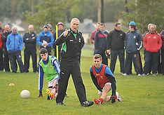 Donie Buckley Skills Coaching Session with School trainers.