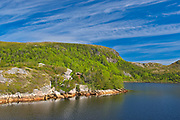 Lake in the Long Range Mountains<br />Isle aux Morts<br />Newfoundland & Labrador<br />Canada