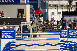 Englbrecht Roland, AUT, Mevisto's Corwinni<br /> European Championship Jumping<br /> Rotterdam 2019<br /> © Hippo Foto - Dirk Caremans<br /> Englbrecht Roland, AUT, Mevisto's Corwinni