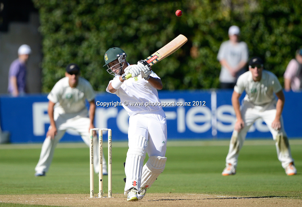 South Africa's  Jean-Paul Duminy. Test match cricket. Third Test, Day 3. New Zealand Black Caps versus South Africa Proteas, Basin Reserve, Wellington, New Zealand. Sunday 25 March 2012. Photo: Andrew Cornaga/Photosport.co.nz