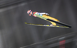 09.03.2018, Holmenkollen, Oslo, NOR, FIS Weltcup Ski Sprung, Raw Air, Oslo, im Bild Stefan Kraft (AUT) // Stefan Kraft of Austria during the 1st Stage of the Raw Air Series of FIS Ski Jumping World Cup at the Holmenkollen in Oslo, Norway on 2018/03/10. EXPA Pictures © 2018, PhotoCredit: EXPA/ JFK