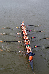The #2 nationally ranked Virginia Cavaliers rowing team swept the Bucknell Bison in seven races at the Rivanna Reservoir in Charlottesville, VA on March 21, 2008.