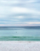 The calm Emerald Coast beaches in, Destin, Florida.