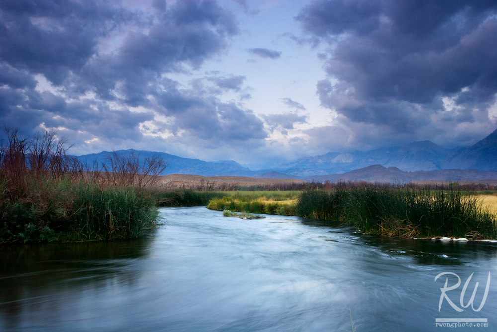 Owens River, Owens Valley Near Bishop, California