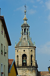 Bell tower of a church in Vitoria Gasteiz, Spain<br /> <br /> (c) Andrew Wilson | Edinburgh Elite media