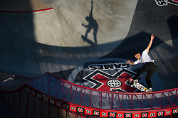 28 JUL 2011: The ESPN Summer X Games 17 held in downtown Los Angeles, CA. (Joshua Duplechian)