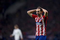 November 18, 2017 - Madrid, Madrid, Spain - Juanfran during the match between Atletico de Madrid and Real Madrid, week 12 of La Liga at Wanda Metropolitano stadium, Madrid, SPAIN - 18th November of 2017. (Credit Image: © Jose Breton/NurPhoto via ZUMA Press)