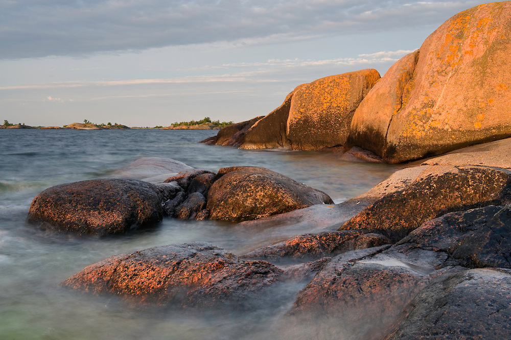 Sunrise in L&aring;ngvikssk&auml;r.<br /> Stockholm Archipelago, Sweden