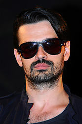 30 Seconds to Mars.<br /> Rock band member Tomo Milicevic during the meet and greet with fans as they sign copies of their new album, Love, Lust, Faith and Dreams, HMV Oxford Circus<br /> London, United Kingdom<br /> Tuesday, 18th June 2013<br /> Picture by Chris  Joseph / i-Images