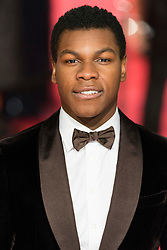 © Licensed to London News Pictures. 14/02/2016. London, UK.  JOHN BOYEGA arrives on the red carpet at the EE British Academy Film Awards 2016 Photo credit: Ray Tang/LNP