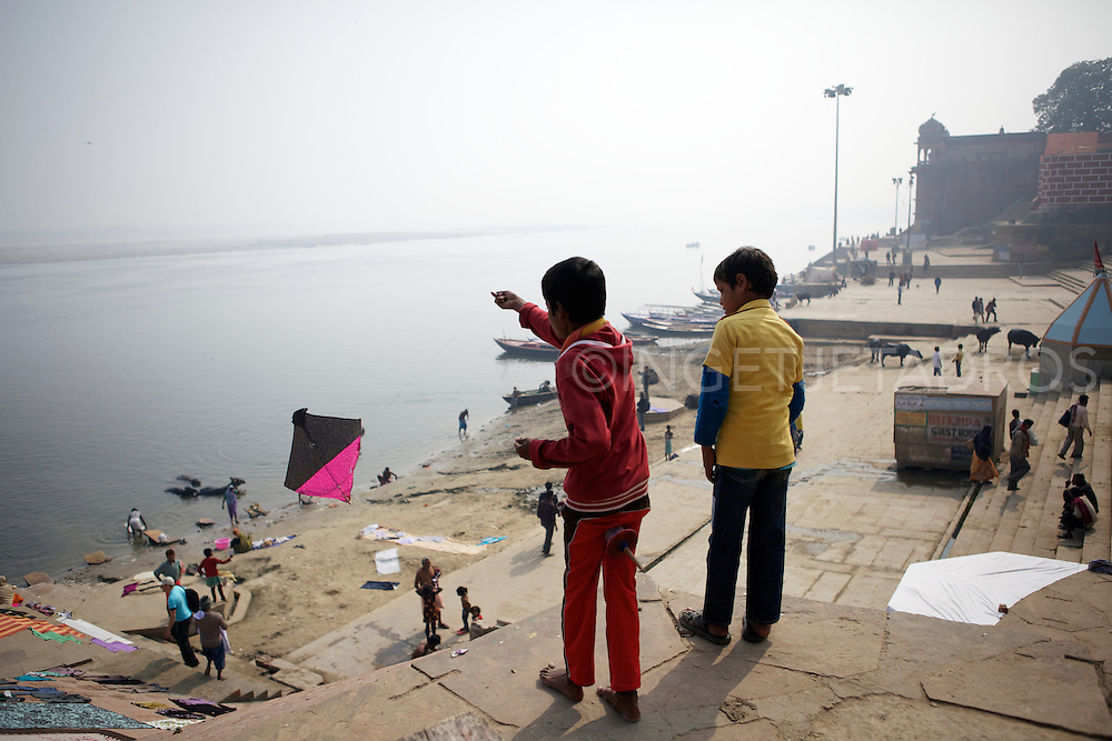 India has a very ancient kite tradition.<br />