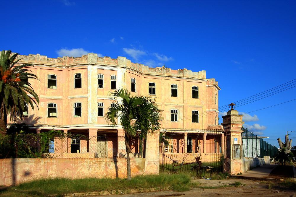 Building in Playas del Este, Havana, Cuba.