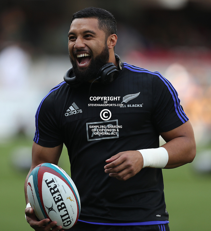 DURBAN, SOUTH AFRICA, 8 October, 2016 - Lima Sopoaga of New Zealand during the Rugby Championship match between South Africa and New Zealand at Kings Park in Durban, South Africa. (Photo by Steve Haag)