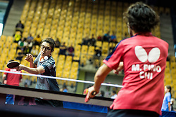 PARK Hong Kyu during SPINT 2018 Table Tennis world championship for the Disabled, Day One, on October 16th, 2018, in Dvorana Zlatorog, Celje, Slovenia. . Photo by Grega Valancic / Sportida