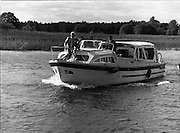 Galway Oyster Festival..1982.09.09.1982.09.09.1982.9th September 1982..Image of cruise on the Shannon..Photo taken as The Festival was held on the banks of the Shannon at Portumna Co.,Galway..It was held in the picturesque new marina. The event was sponsored by Guinness. Emerald Star line were also represented..Nice way to end the day, A cruise on the Shannon aboard the Emerald Star Cruiser.