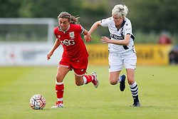 Jodie Brett of Bristol City Women in action - Mandatory byline: Rogan Thomson/JMP - 09/07/2016 - FOOTBALL - Stoke Gifford Stadium - Bristol, England - Bristol City Women v Milwall Lionesses - FA Women's Super League 2.