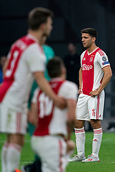 08-05-2019 NED: Semi Final Champions League AFC Ajax - Tottenham Hotspur, Amsterdam<br /> After a dramatic ending, Ajax has not been able to reach the final of the Champions League. In the final second Tottenham Hotspur scored 3-2 / Lisandro Magallan #16 of Ajax