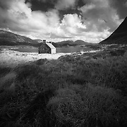 The wee hoose, Loch Stack, Sutherland