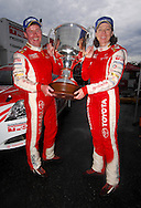 Team Toyota Racing Development celebrate Neal Bates & Coral Taylor winning their 4th Australian Rally Championship.Motorsport-Rally/2008 Coffs Coast Rally.Heat 1.Coffs Harbour, NSW.15th of November 2008.(C) Joel Strickland Photographics