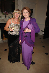 Left to right, INGRID SEWARD and LADY ELIZABETH ANSON at a pub style quiz night in aid of Rapt at Willaim Kent House, The Ritz, London on 25th June 2006.  The questions were composed by Judith Keppel and the winning team won £1000 to donate to a charity of their choice.<br /><br />NON EXCLUSIVE - WORLD RIGHTS