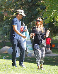 Jessica alba and cash warren takes their daughter to the Park in Beverly Hills ***SPECIAL INSTRUCTIONS*** Please pixelate children's faces before publication.***. 01 Oct 2017 Pictured: Jessica Alba. Photo credit: MEGA TheMegaAgency.com +1 888 505 6342