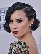 DEMI LOVATO @ the 2015 American Music Awards held @ the Micorsoft theatre.<br /> ©Exclusivepix Media