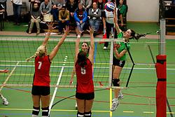 31-01-2013 VOLLEYBAL: BEKER VVC VUGHT - EUROSPED : VUGHT <br /> Ilse Oude Luttikhuis, Eurosped<br /> ©2012-FotoHoogendoorn.nl / Pim Waslander