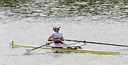 Gent, BELGIUM,  Sat,  Mornings heats,  LW1X,  Ireland leading at the 1500 meters, International Belgian Rowing Championships, Saturday 09/05/2009, [Mandatory Credit. Peter Spurrier/Intersport Images]